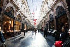 Galeries Royales Άγιος-Hubert στο Βέλγιο Στοκ φωτογραφία με δικαίωμα ελεύθερης χρήσης