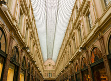 The Galeries Royales Saint-Hubert in Brussels Royalty Free Stock Photos