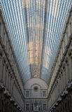 Galeries Royales Saint-Hubert. Ornate nineteenth century shopping arcades in the centre of Brussels, Belgium.  stock photos