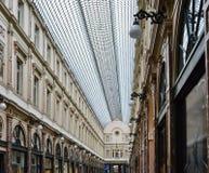 Galeriesen Royales Helgon-Hubert i Bryssel, Belgien Royaltyfri Fotografi