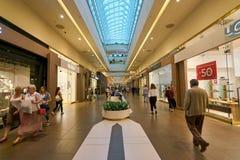 Galerii centrum handlowe Zdjęcia Royalty Free