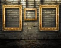 galerii grunge ilustracja wektor