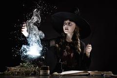 galerii Halloween ilustracje mój zadawalają widzią jednakowego wizyty czarownica Zdjęcie Royalty Free