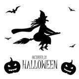 galerii Halloween ilustracje mój zadawalają widzią jednakowego wizyty czarownica Obraz Royalty Free