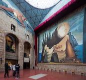 Galerii sala z Zdjęcie Stock