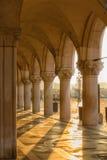 Galerij van het Paleis van Doges. royalty-vrije stock afbeelding