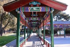 Galerij van het Park van Peking Zhongshan Royalty-vrije Stock Fotografie