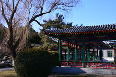 Galerij van het Park van Peking Zhongshan Stock Fotografie