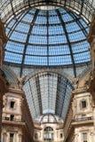 Galerij Vittorio Emanuele in Milaan Royalty-vrije Stock Afbeeldingen
