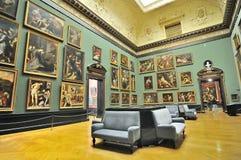 Galerijruimte van Kunsthistorisches-Museum (Museum van Art Histor stock afbeeldingen