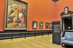 Galerijruimte van Kunsthistorisches-Museum (Museum van Art Histor stock afbeelding