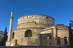 Galerius palace temple at Thessaloniki, Stock Image