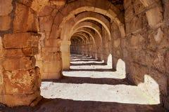 Galery at Aspendos in Antalya, Turkey Royalty Free Stock Photo