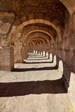 Galery at Aspendos in Antalya, Turkey Royalty Free Stock Images