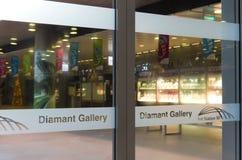 Galery do diamante Foto de Stock Royalty Free