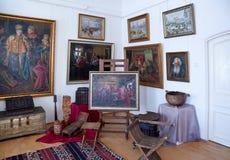 Galery door kunstenaar Ivan Kulikov stock afbeelding