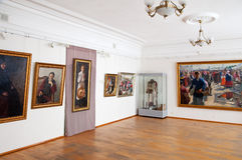 Galery durch Künstler Ivan Kulikov lizenzfreies stockbild