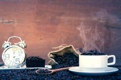 Galet förälskat med kaffe Royaltyfri Foto