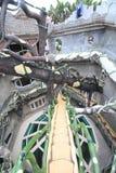 Galet hus i Da-laten, Vietnam Royaltyfri Bild