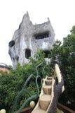Galet hus i Da-laten, Vietnam Arkivfoton
