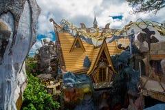 Galet hus i Vietnam Royaltyfria Bilder