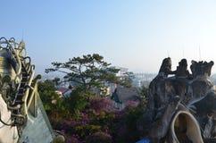Galet hus i Vietnam Royaltyfria Foton