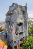 Galet hus på den Dalat staden royaltyfria foton