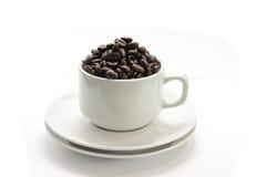 galet kaffe 4 Arkivfoto