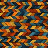 Galet täcke för stam- stil, flerfärgad etnisk sparre stock illustrationer