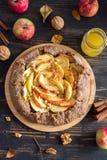 Galette da torta de Apple Fotografia de Stock