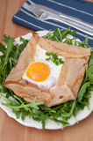 Galette de sarasin Royalty Free Stock Photos