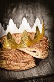 Galette des rois. épiphany cake Stock Photo