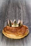 Galette des rois. épiphany cake Stock Images
