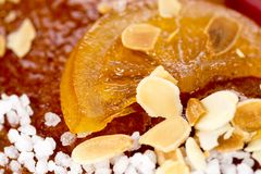 Galette des rois or King`s cake. Galette des rois. Traditional french cake Stock Photos