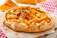 Galette with  pumpkin Royalty Free Stock Photography