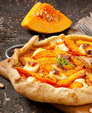 Galette with  pumpkin Royalty Free Stock Photo