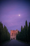 galgano san Тоскана аббатства Стоковые Изображения