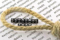 Galge för ekonomiska problem Arkivfoton