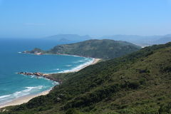 Galheta wyrzucać na brzeg, Florianà ³ polisa, Brazylia zdjęcie royalty free