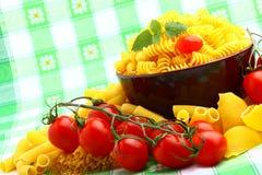 Galho delicioso dos tomates Foto de Stock