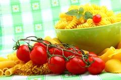 Galho delicioso dos tomates Fotografia de Stock Royalty Free