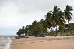 Galibi 1 del Surinam fotografia stock