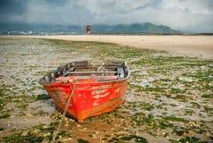 Galicia beach Royalty Free Stock Photos