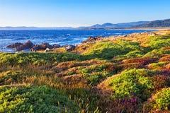 Galicia coastline Stock Image