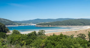 Galicia landscape Royalty Free Stock Photo
