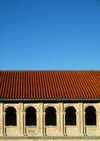 Galicia Monastery Ribeira Sacra. Monastery of Santo Estevo, a small village of the city of Orense (Spain) and near the Rio Sil Canyon Stock Image