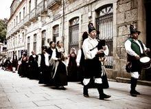 Galicia pipes Royalty Free Stock Photos