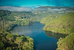 Galicia Spanien Royaltyfria Foton