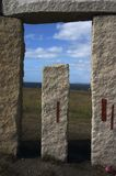 Galicia Stones. It´s the place of Hercules Tower Stock Photos