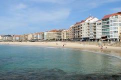 Galician beach royalty free stock image